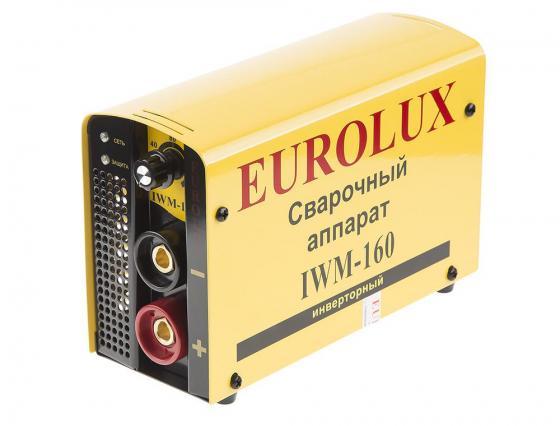Инвертор сварочный EUROLUX IWM160 220В 10-160А ПВ70% 4.5кг шины michelin latitude x ice xi2 255 50 r19 h