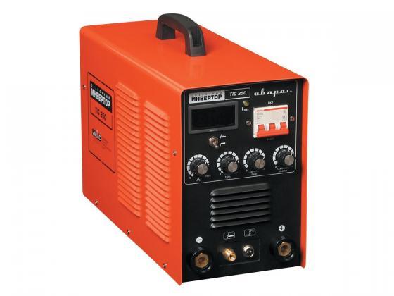 цена на Инвертор сварочный СВАРОГ TIG 250 (R22) 380В 10-215/10-250А 8.3кВт 1.6-5.0мм ПВ60% 18.5кг