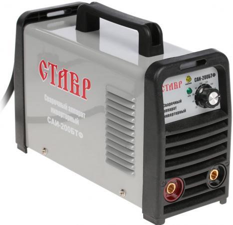 цена на Инвертор сварочный СТАВР САИ-200 БТФ 4900Вт 20-200А раб.цикл 60% эл.1.6-5мм