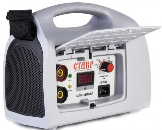 Сварочный аппарат СТАВР САИ-180 БТЛ инверторный 180А IGBT 6.1кВт 20-180А сварочный аппарат инверторный ставр саи 200 бтэ