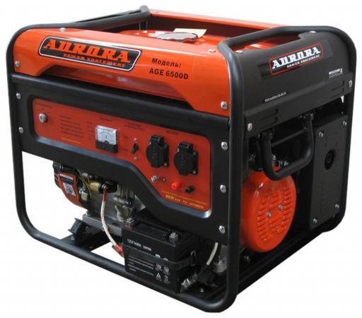 Бензоэлектростанция AURORA AGE 6500 D 5.5кВт бак 25л 9ч электростарт бак 25л тм epos 1254234