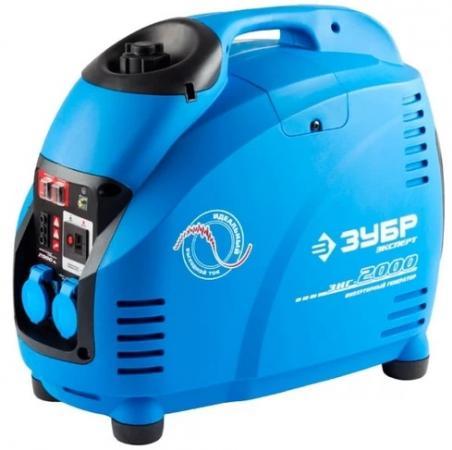 Инверторный бензиновый генератор ЗУБР ЗИГ-2000 2000/1600Вт 220В 4ткт эл-интелект генератор бензиновый инверторный ergomax er 2000 i