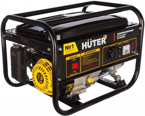 цена на Бензоэлектростанция HUTER DY4000L 3,0кВт 50Гц бак15л расх.395г/кВтч 45кг