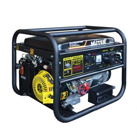 цена на Бензоэлектростанция HUTER DY6500LXA 5,0кВт 50Гц бак22л расх.374г/кВтч 74кг