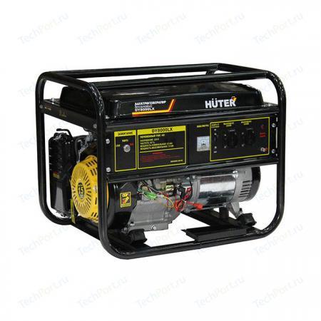 цена на Бензоэлектростанция HUTER DY8000LX 6,5кВт 50Гц бак25л расх.374г/кВтч 94кг