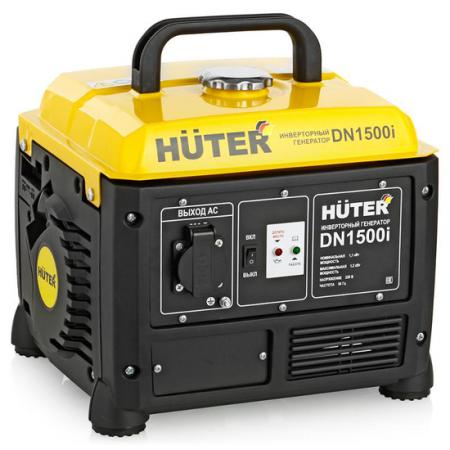 Инверторный бензиновый генератор HUTER DN1500i 220В 2.2лс все цены