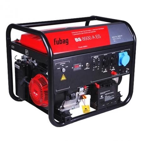 Бензиновый генератор FUBAG BS 8500 A ES с электростартером и коннектором автоматики