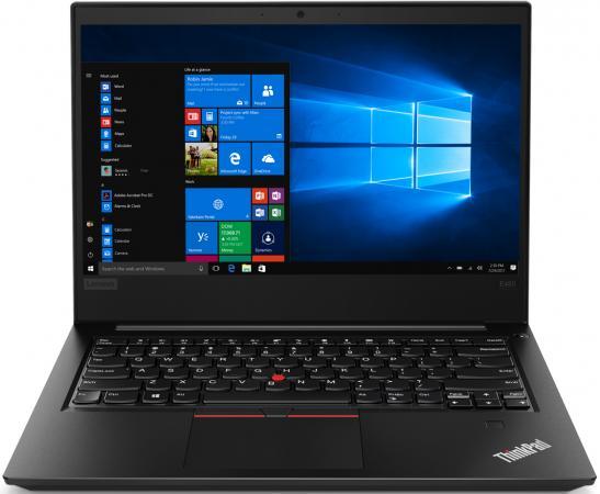 """Ноутбук Lenovo ThinkPad Edge E480 14"""" 1920x1080 Intel Core i3-8130U 1 Tb 4Gb Intel UHD Graphics 620 черный Windows 10 Professional 20KN0078RT цена и фото"""