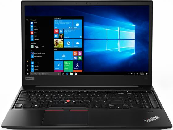 Ноутбук Lenovo ThinkPad E580 Core i3 8130U/4Gb/1Tb/Intel UHD Graphics 620/15.6/IPS/FHD (1920x1080)/Windows 10 Professional/black/WiFi/BT/Cam планшеты lenovo планшет lenovo thinkpad tablet 10 4gb 64gb windows 10 professional 64 черный