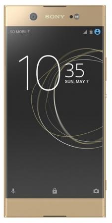 Смартфон SONY Xperia XA1 Ultra Dual золотистый 6 32 Гб NFC LTE Wi-Fi GPS 3G 1308-0891 смартфон htc 10 lifestyle золотистый 5 2 32 гб nfc lte wi fi gps 3g 99hajn037 00
