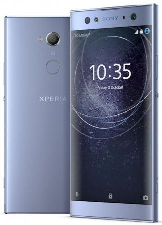 Смартфон SONY Xperia XA2 Ultra Dual синий 6 32 Гб LTE NFC Wi-Fi GPS 3G 1312-7476 магнитый кабель ainy для sony xperia z1 z2 z3 фиолетовый