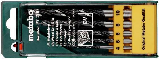цена на Набор CV 5 сверел по дереву,4-10 мм, пласт.коробка