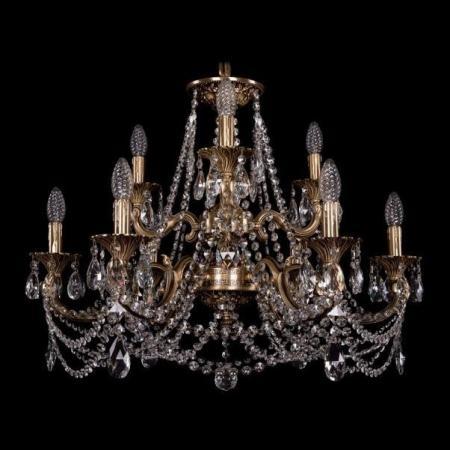 Подвесная люстра Bohemia Ivele 1722/6+3/250/C/FP подвесная люстра bohemia 1722 1722 12 6 6 300 b gw