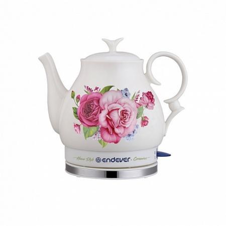 400KR-C Керамический электрический чайник ENDEVER 430kr c керамический электрический чайник endever