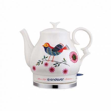 410KR-C Керамический электрический чайник ENDEVER 430kr c керамический электрический чайник endever