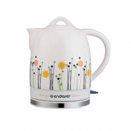 430KR-C Керамический электрический чайник ENDEVER 430kr c керамический электрический чайник endever