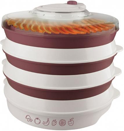 5056(W) Сушилка для овощей и фруктов VITEK.Мощность 400 Вт.Объем одной секции 3 Л.