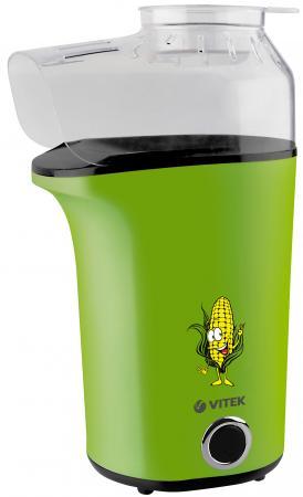 8609(R) Попкорница VITEK Приготовление до 120 г кукурузных зерен.Крышка с мерной ложечкой.