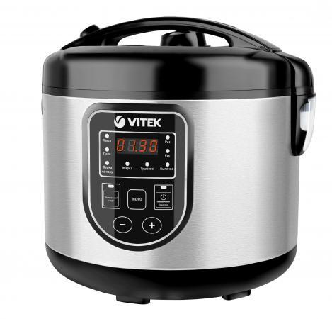 все цены на 4278(BK) Мультиварка VITEK.Потребляемая мощность 900 вт.Двухслойное тефлоновое. онлайн