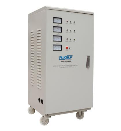 Стабилизатор RUCELF SDV-3-30000 трехфазный 30000Вт стабилизатор напряжения rucelf sdv 3 60000