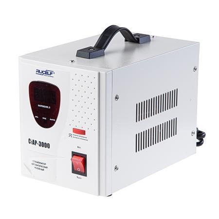 Стабилизатор напряжения Rucelf СтАР-3000 2 розетки rucelf автоинвертор sbl 120 00012347