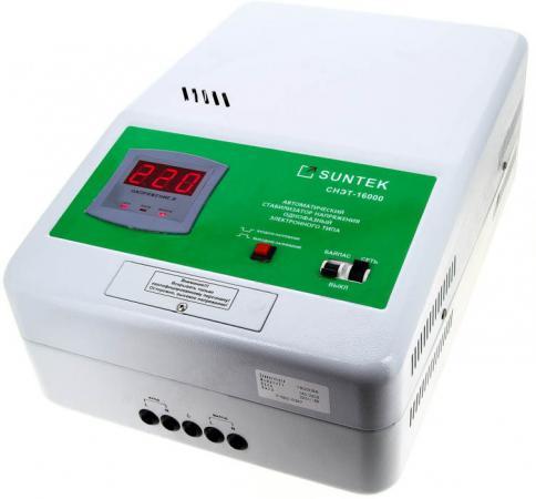 Стабилизатор напряжения Suntek СНЭТ-16000
