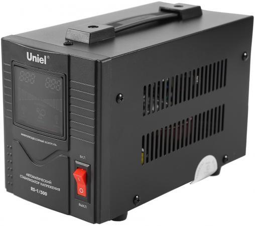 все цены на Стабилизатор напряжения UNIEL RS-1/10000LS однофазный настенный 70-275В 10000ВА онлайн