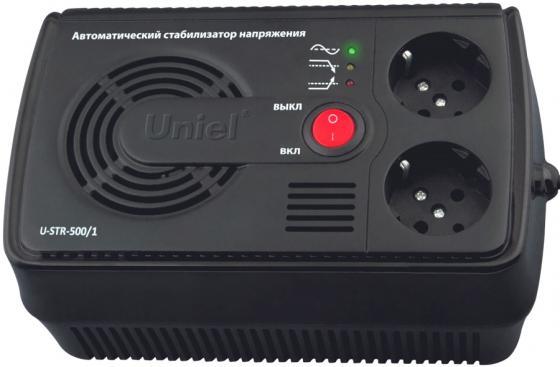 Стабилизатор напряжения UNIEL U-STR-500/1 145-280В 500ВА ибп uniel u iups 1500uc
