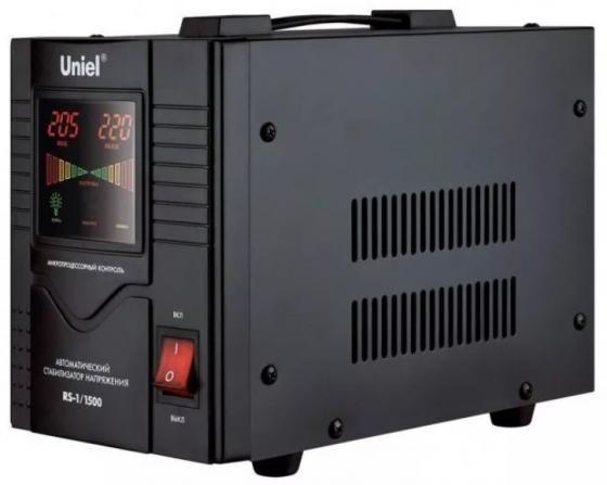 Стабилизатор напряжения Uniel RS-1/500LS 1 розетка стабилизатор напряжения uniel expert 09622 1000ва u ars 1000 1