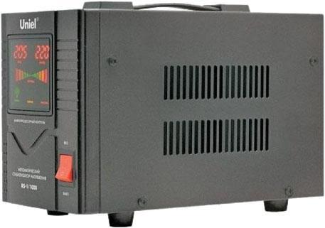 Стабилизатор UNIEL RS-1/5000 однофазный, цифровой 220В, 4000Вт, вх.140-260В uniel usn 10