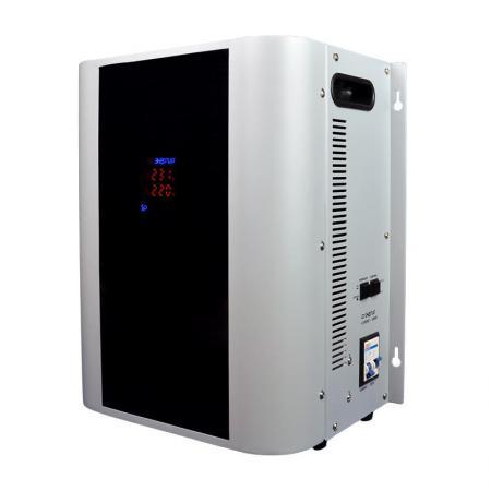 Купить Стабилизатор ЭНЕРГИЯ Нybrid 10000 по точности: 105-265В по защите: 100-280В навесной, Энергия, Стабилизатор напряжения, черный, серебристый