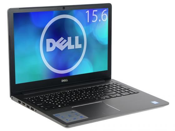 Ноутбук Dell Vostro 5568 (5568-9898) i5-7200U (2.5)/8GB/256GB SSD/15.6 FHD AG/NV 940MX 4GB/noODD/Backlit/Linux (Gray) ноутбук dell vostro 5568 core i5 7200u 8gb 1tb nv 940mx 4gb 15 6 fullhd win10