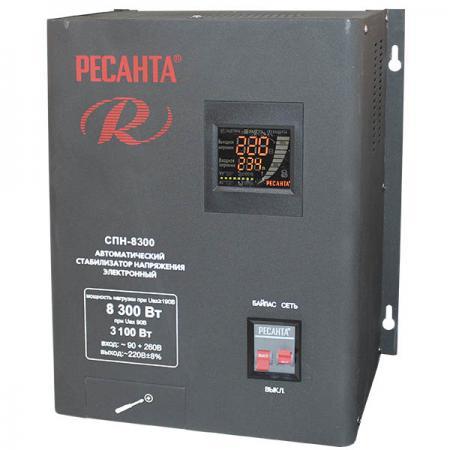 Стабилизатор напряжения Ресанта СПН-8300 стабилизатор ресанта спн 5400