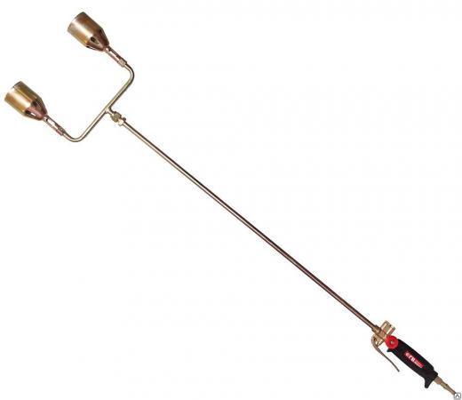 Горелка газовоздушная KRASS ГВ-131-Р кровельная рычажная двухфакельная кровельная горелка kemper 1217