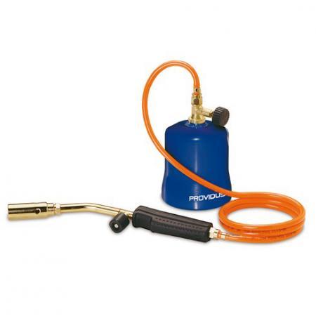 Горелка PROVIDUS+ AG384M на смеси пропан-бутан со шлангом 1.5м домашний сейф датчика сигнализация газ пропан бутан метан течеискателя