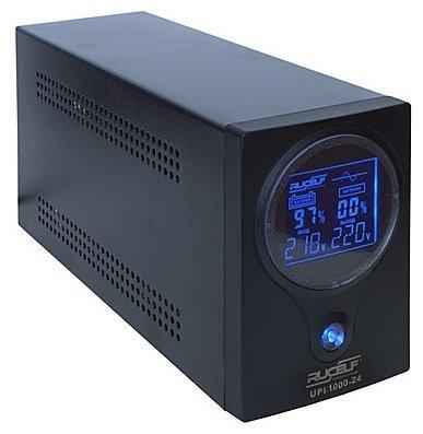 ИБП RUCELF UPI-1000-24-EL 760ВА вх.без перехода на аккум.140-275В вых.220В LCD без аккум. 10pcs lot upi up0104ssw8 up0104s