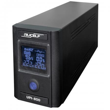ИБП RUCELF UPI-800-12-EL 620Вт 140-275В аккумуляторные батареи 1шт. 10pcs lot upi up0104ssw8 up0104s