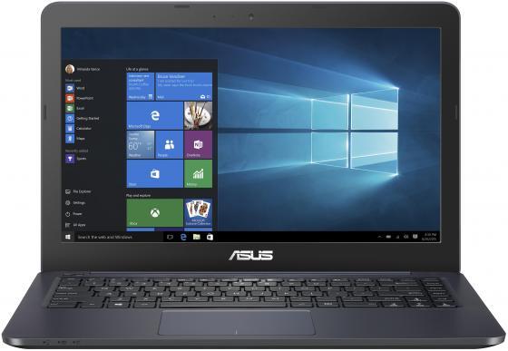 Ноутбук Asus VivoBook E402WA-GA040 E2 6110/2Gb/500Gb/AMD Radeon R2/14/HD (1366x768)/Endless/dk.blue/WiFi/BT/Cam x93s k93sm x93sm for asus laptop motherboard pbl80 la 7441p mainboard rev 2 0 gt540m 2gb 100% tested