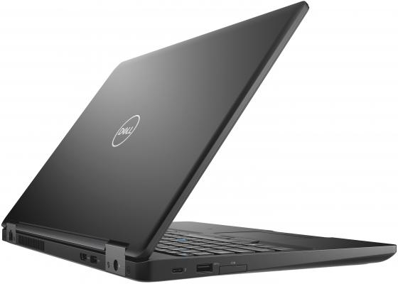Ноутбук DELL Latitude 5590 15.6 1920x1080 Intel Core i7-8650U 512 Gb 16Gb nVidia GeForce MX130 2048 Мб черный Windows 10 Professional 5590-1597 ноутбук dell latitude 7490 i7 7490 2585 черный