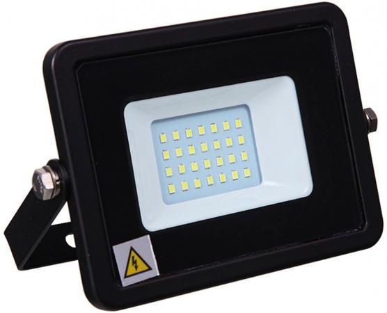 Прожектор светодиодный тонкий, 20Вт Теплый Белый 601-326 уличный прожектор dl ns2020 белый теплый maysun