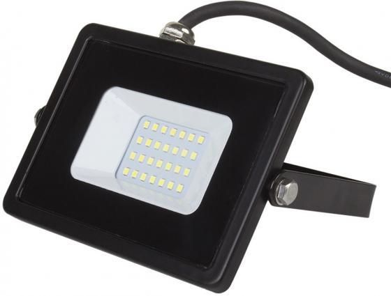Прожектор светодиодный тонкий, 30Вт Теплый Белый