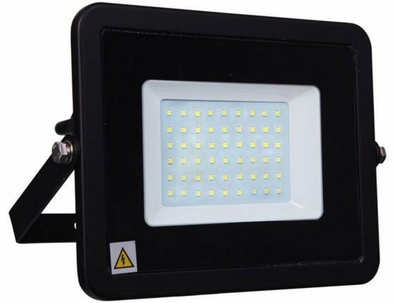 Прожектор светодиодный тонкий, 50Вт Теплый Белый