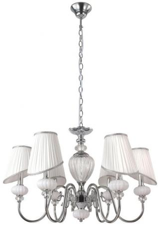 Подвесная люстра Crystal Lux Alma White SP-PL6 подвесная люстра crystal lux glamour glamour sp pl6