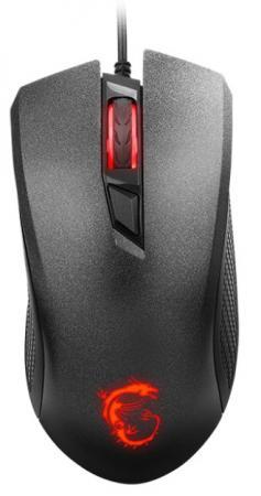 лучшая цена Мышь проводная MSI Clutch GM10 чёрный USB S12-0401530-AP1