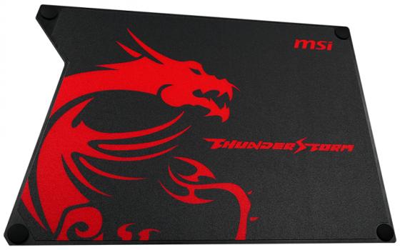 лучшая цена Коврик для мыши MSI Thunderstorm Aluminum GAMING Mousepad