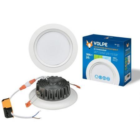 Встраиваемый светодиодный светильник (UL-00001622) Volpe ULM-Q235 24W/NW oliver polak ulm