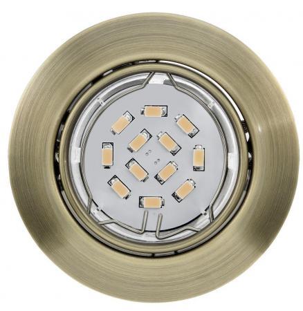Встраиваемый светильник Eglo Peneto 94243 eglo встраиваемый светодиодный светильник eglo peneto 1 95894