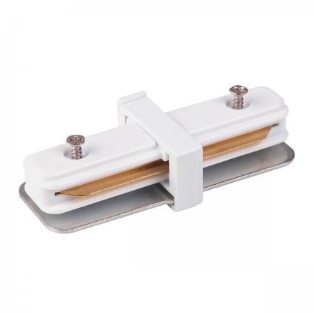 Коннектор прямой Elektrostandard TRC-1-1-I-WH 4690389112331 коннектор elektrostandart trc 1 1 l wh коннектор угловой для однофазного шинопровода белый