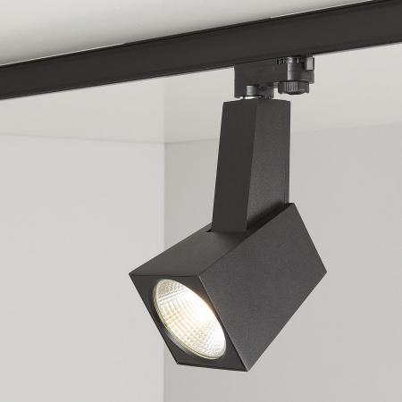 Трековый светодиодный светильник Elektrostandard Perfect черный 38W 3300K 4690389111464 трековый светодиодный светильник elektrostandard accord 20w 3300k 4690389112188
