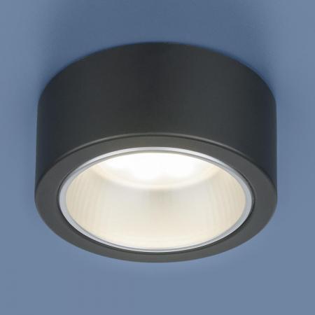Накладной светильник Elektrostandard 1070 GX53 BK черный 4690389087554 elektrostandard накладной точечный светильник elektrostandard 1070 gx53 bk черный 4690389087554